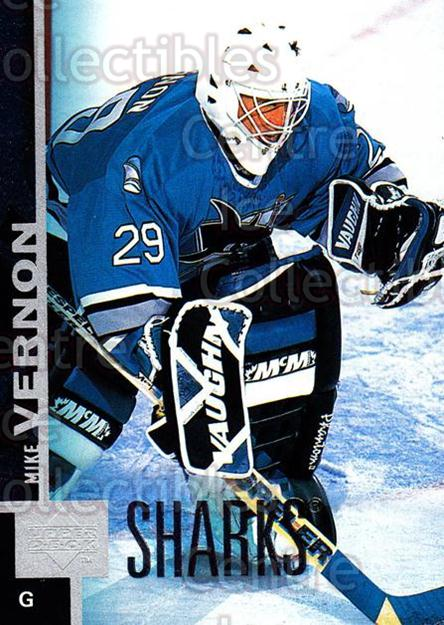1997-98 Upper Deck #356 Mike Vernon<br/>14 In Stock - $1.00 each - <a href=https://centericecollectibles.foxycart.com/cart?name=1997-98%20Upper%20Deck%20%23356%20Mike%20Vernon...&quantity_max=14&price=$1.00&code=301944 class=foxycart> Buy it now! </a>