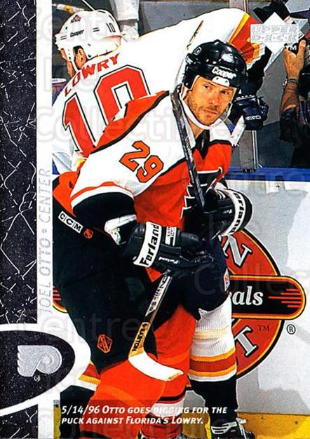 1996-97 Upper Deck #124 Joel Otto<br/>4 In Stock - $1.00 each - <a href=https://centericecollectibles.foxycart.com/cart?name=1996-97%20Upper%20Deck%20%23124%20Joel%20Otto...&quantity_max=4&price=$1.00&code=301981 class=foxycart> Buy it now! </a>