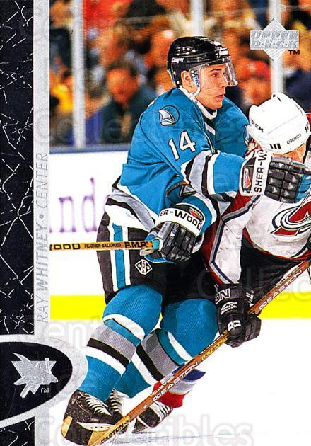 1996-97 Upper Deck #150 Ray Whitney<br/>4 In Stock - $1.00 each - <a href=https://centericecollectibles.foxycart.com/cart?name=1996-97%20Upper%20Deck%20%23150%20Ray%20Whitney...&quantity_max=4&price=$1.00&code=301983 class=foxycart> Buy it now! </a>