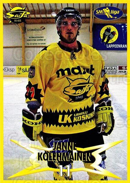 2004-05 Finnish SaiPa Lappeenranta Postcards #4 Janne Kolehmainen<br/>2 In Stock - $3.00 each - <a href=https://centericecollectibles.foxycart.com/cart?name=2004-05%20Finnish%20SaiPa%20Lappeenranta%20Postcards%20%234%20Janne%20Kolehmain...&quantity_max=2&price=$3.00&code=302156 class=foxycart> Buy it now! </a>