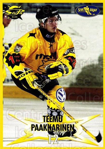 2004-05 Finnish SaiPa Lappeenranta Postcards #5 Teemu Paakkarinen<br/>1 In Stock - $3.00 each - <a href=https://centericecollectibles.foxycart.com/cart?name=2004-05%20Finnish%20SaiPa%20Lappeenranta%20Postcards%20%235%20Teemu%20Paakkarin...&quantity_max=1&price=$3.00&code=302157 class=foxycart> Buy it now! </a>