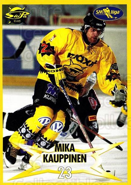 2004-05 Finnish SaiPa Lappeenranta Postcards #8 Mika Kauppinen<br/>2 In Stock - $3.00 each - <a href=https://centericecollectibles.foxycart.com/cart?name=2004-05%20Finnish%20SaiPa%20Lappeenranta%20Postcards%20%238%20Mika%20Kauppinen...&quantity_max=2&price=$3.00&code=302160 class=foxycart> Buy it now! </a>