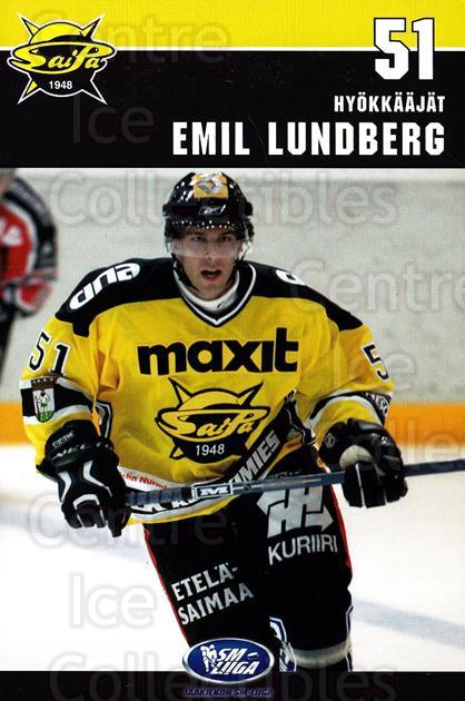 2006-07 Finnish SaiPa Lappeenranta Postcards #14 Emil Lundberg<br/>1 In Stock - $3.00 each - <a href=https://centericecollectibles.foxycart.com/cart?name=2006-07%20Finnish%20SaiPa%20Lappeenranta%20Postcards%20%2314%20Emil%20Lundberg...&quantity_max=1&price=$3.00&code=302183 class=foxycart> Buy it now! </a>