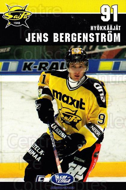 2006-07 Finnish SaiPa Lappeenranta Postcards #18 Jens Bergenstrom<br/>1 In Stock - $3.00 each - <a href=https://centericecollectibles.foxycart.com/cart?name=2006-07%20Finnish%20SaiPa%20Lappeenranta%20Postcards%20%2318%20Jens%20Bergenstro...&quantity_max=1&price=$3.00&code=302185 class=foxycart> Buy it now! </a>
