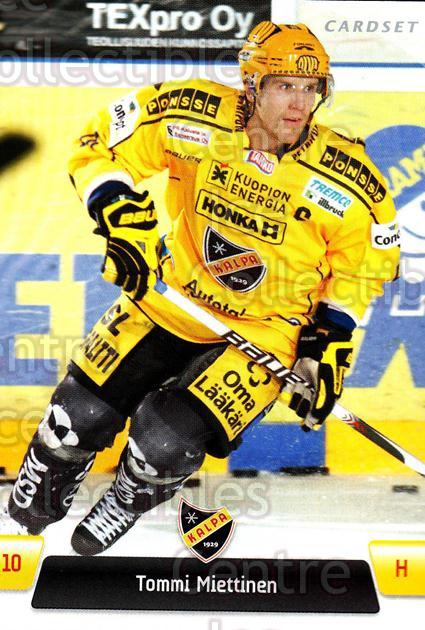 2011-12 Finnish Cardset #78 Tommi Miettinen<br/>4 In Stock - $2.00 each - <a href=https://centericecollectibles.foxycart.com/cart?name=2011-12%20Finnish%20Cardset%20%2378%20Tommi%20Miettinen...&quantity_max=4&price=$2.00&code=302396 class=foxycart> Buy it now! </a>