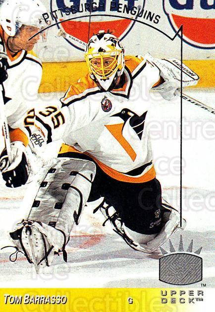 1993-94 Upper Deck SP #120 Tom Barrasso<br/>4 In Stock - $1.00 each - <a href=https://centericecollectibles.foxycart.com/cart?name=1993-94%20Upper%20Deck%20SP%20%23120%20Tom%20Barrasso...&quantity_max=4&price=$1.00&code=3024 class=foxycart> Buy it now! </a>