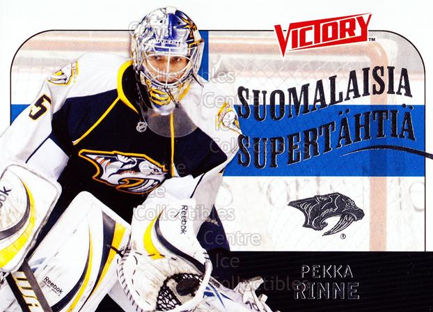 2009-10 Finnish UD Victory Suomalaisia Supertahtia #19 Pekka Rinne<br/>3 In Stock - $2.00 each - <a href=https://centericecollectibles.foxycart.com/cart?name=2009-10%20Finnish%20UD%20Victory%20Suomalaisia%20Supertahtia%20%2319%20Pekka%20Rinne...&quantity_max=3&price=$2.00&code=302805 class=foxycart> Buy it now! </a>
