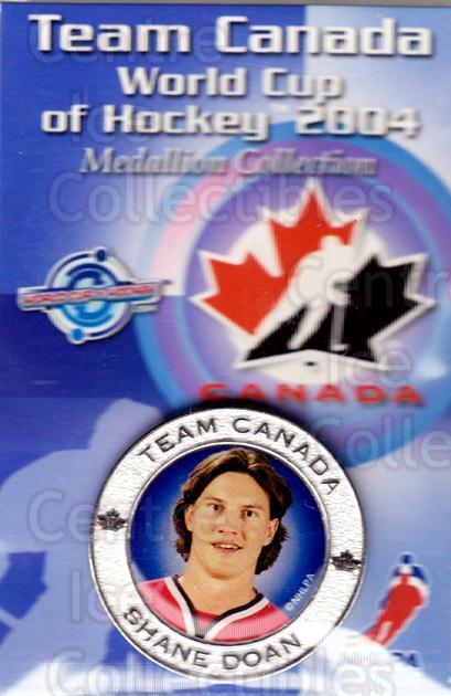 2004 Team Canada World Cup Medallion #24 Shane Doan<br/>1 In Stock - $5.00 each - <a href=https://centericecollectibles.foxycart.com/cart?name=2004%20Team%20Canada%20World%20Cup%20Medallion%20%2324%20Shane%20Doan...&quantity_max=1&price=$5.00&code=302892 class=foxycart> Buy it now! </a>