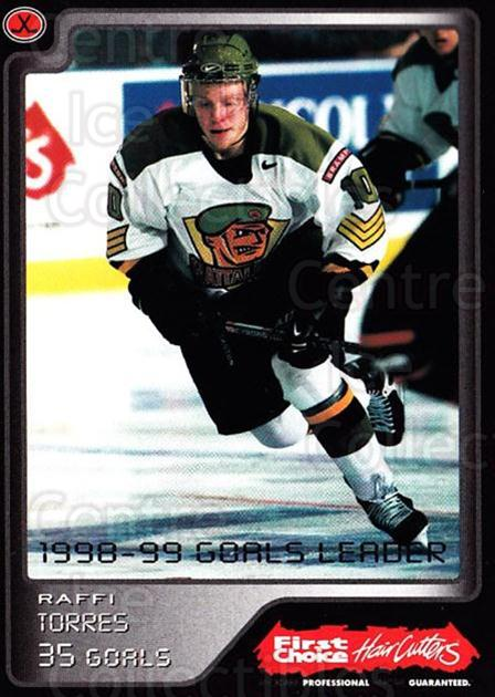 1999-00 Brampton Battalion #30 Raffi Torres<br/>1 In Stock - $3.00 each - <a href=https://centericecollectibles.foxycart.com/cart?name=1999-00%20Brampton%20Battalion%20%2330%20Raffi%20Torres...&price=$3.00&code=302960 class=foxycart> Buy it now! </a>