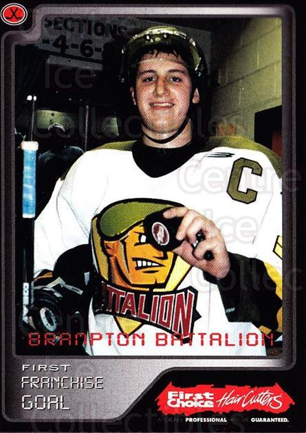 1999-00 Brampton Battalion #31 Jason Maleyko<br/>1 In Stock - $3.00 each - <a href=https://centericecollectibles.foxycart.com/cart?name=1999-00%20Brampton%20Battalion%20%2331%20Jason%20Maleyko...&price=$3.00&code=302961 class=foxycart> Buy it now! </a>
