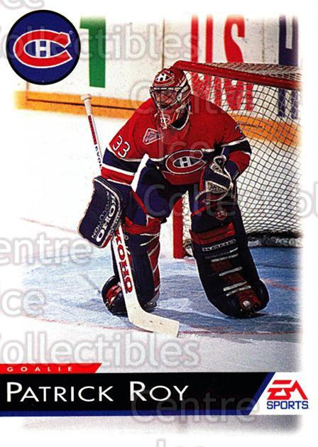 1994 EA Sports #72 Patrick Roy<br/>1 In Stock - $5.00 each - <a href=https://centericecollectibles.foxycart.com/cart?name=1994%20EA%20Sports%20%2372%20Patrick%20Roy...&price=$5.00&code=303307 class=foxycart> Buy it now! </a>