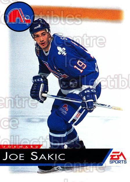 1994 EA Sports #112 Joe Sakic<br/>1 In Stock - $2.00 each - <a href=https://centericecollectibles.foxycart.com/cart?name=1994%20EA%20Sports%20%23112%20Joe%20Sakic...&price=$2.00&code=303310 class=foxycart> Buy it now! </a>