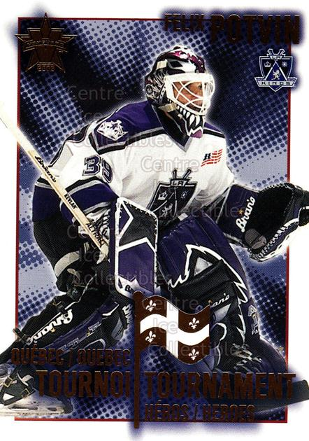 2001-02 Vanguard Quebec Tournament Heroes #8 Felix Potvin<br/>1 In Stock - $3.00 each - <a href=https://centericecollectibles.foxycart.com/cart?name=2001-02%20Vanguard%20Quebec%20Tournament%20Heroes%20%238%20Felix%20Potvin...&quantity_max=1&price=$3.00&code=303332 class=foxycart> Buy it now! </a>