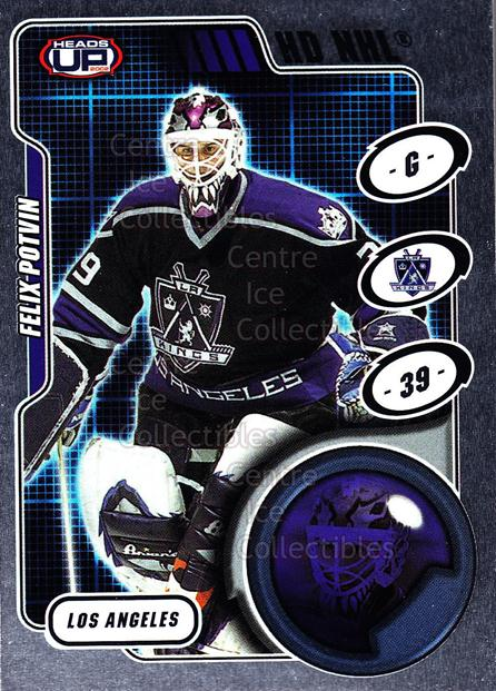 2001-02 Heads-Up HD NHL #15 Felix Potvin<br/>1 In Stock - $3.00 each - <a href=https://centericecollectibles.foxycart.com/cart?name=2001-02%20Heads-Up%20HD%20NHL%20%2315%20Felix%20Potvin...&quantity_max=1&price=$3.00&code=303353 class=foxycart> Buy it now! </a>