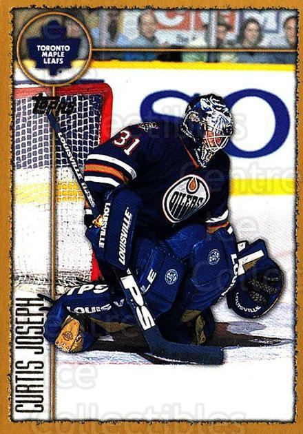 1998-99 Topps #186 Curtis Joseph<br/>2 In Stock - $1.00 each - <a href=https://centericecollectibles.foxycart.com/cart?name=1998-99%20Topps%20%23186%20Curtis%20Joseph...&quantity_max=2&price=$1.00&code=303404 class=foxycart> Buy it now! </a>