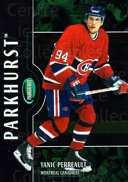 2002-03 Parkhurst #176 Yanic Perreault<br/>1 In Stock - $1.00 each - <a href=https://centericecollectibles.foxycart.com/cart?name=2002-03%20Parkhurst%20%23176%20Yanic%20Perreault...&quantity_max=1&price=$1.00&code=303546 class=foxycart> Buy it now! </a>