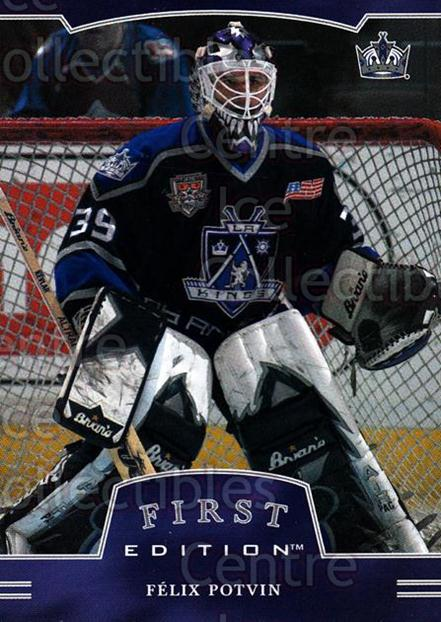 2002-03 BAP First Edition #4 Felix Potvin<br/>1 In Stock - $1.00 each - <a href=https://centericecollectibles.foxycart.com/cart?name=2002-03%20BAP%20First%20Edition%20%234%20Felix%20Potvin...&quantity_max=1&price=$1.00&code=303559 class=foxycart> Buy it now! </a>