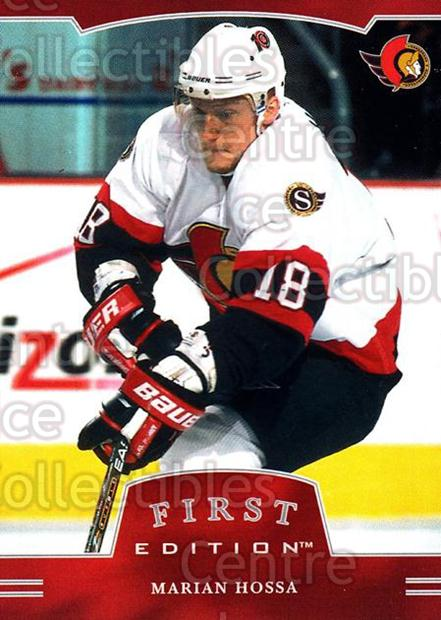 2002-03 BAP First Edition #75 Marian Hossa<br/>3 In Stock - $1.00 each - <a href=https://centericecollectibles.foxycart.com/cart?name=2002-03%20BAP%20First%20Edition%20%2375%20Marian%20Hossa...&quantity_max=3&price=$1.00&code=303568 class=foxycart> Buy it now! </a>