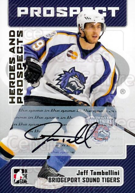 2006-07 ITG Heroes and Prospects Auto #AJTA Jeff Tambellini<br/>1 In Stock - $5.00 each - <a href=https://centericecollectibles.foxycart.com/cart?name=2006-07%20ITG%20Heroes%20and%20Prospects%20Auto%20%23AJTA%20Jeff%20Tambellini...&price=$5.00&code=303723 class=foxycart> Buy it now! </a>