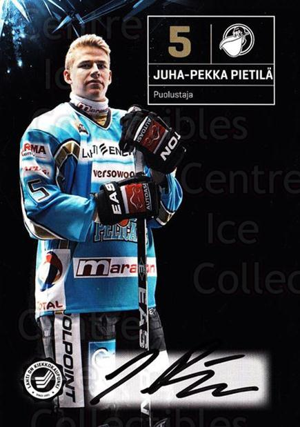 2011-12 Finnish Pelicans Autographed Postcards #4 Juha-Pekka Pietila<br/>3 In Stock - $5.00 each - <a href=https://centericecollectibles.foxycart.com/cart?name=2011-12%20Finnish%20Pelicans%20Autographed%20Postcards%20%234%20Juha-Pekka%20Piet...&quantity_max=3&price=$5.00&code=303771 class=foxycart> Buy it now! </a>