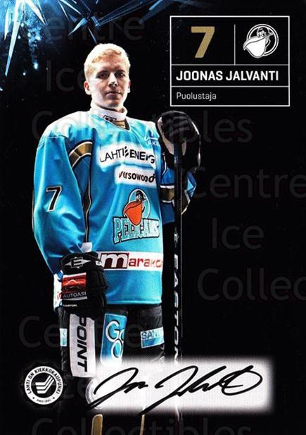 2011-12 Finnish Pelicans Autographed Postcards #6 Joonas Jalvanti<br/>3 In Stock - $5.00 each - <a href=https://centericecollectibles.foxycart.com/cart?name=2011-12%20Finnish%20Pelicans%20Autographed%20Postcards%20%236%20Joonas%20Jalvanti...&quantity_max=3&price=$5.00&code=303773 class=foxycart> Buy it now! </a>