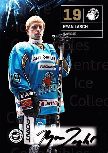 2011-12 Finnish Pelicans Autographed Postcards #11 Ryan Lasch<br/>1 In Stock - $5.00 each - <a href=https://centericecollectibles.foxycart.com/cart?name=2011-12%20Finnish%20Pelicans%20Autographed%20Postcards%20%2311%20Ryan%20Lasch...&quantity_max=1&price=$5.00&code=303778 class=foxycart> Buy it now! </a>