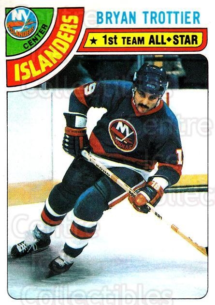 1978-79 Topps #10 Bryan Trottier<br/>8 In Stock - $3.00 each - <a href=https://centericecollectibles.foxycart.com/cart?name=1978-79%20Topps%20%2310%20Bryan%20Trottier...&quantity_max=8&price=$3.00&code=30377 class=foxycart> Buy it now! </a>