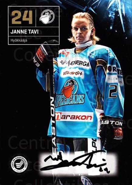 2011-12 Finnish Pelicans Autographed Postcards #15 Janne Tavi<br/>3 In Stock - $5.00 each - <a href=https://centericecollectibles.foxycart.com/cart?name=2011-12%20Finnish%20Pelicans%20Autographed%20Postcards%20%2315%20Janne%20Tavi...&quantity_max=3&price=$5.00&code=303782 class=foxycart> Buy it now! </a>