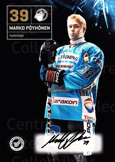 2011-12 Finnish Pelicans Autographed Postcards #22 Marko Poyhonen<br/>3 In Stock - $5.00 each - <a href=https://centericecollectibles.foxycart.com/cart?name=2011-12%20Finnish%20Pelicans%20Autographed%20Postcards%20%2322%20Marko%20Poyhonen...&quantity_max=3&price=$5.00&code=303789 class=foxycart> Buy it now! </a>