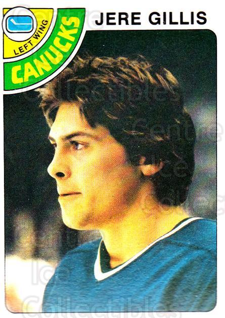 1978-79 Topps #109 Jere Gillis<br/>12 In Stock - $1.00 each - <a href=https://centericecollectibles.foxycart.com/cart?name=1978-79%20Topps%20%23109%20Jere%20Gillis...&quantity_max=12&price=$1.00&code=30386 class=foxycart> Buy it now! </a>