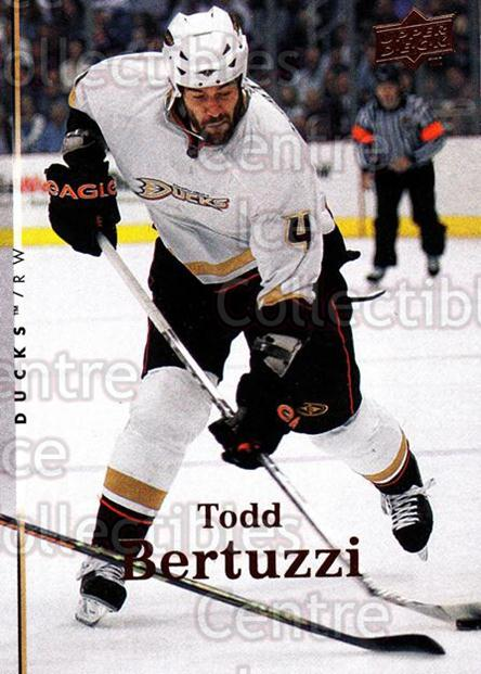 2007-08 Upper Deck #320 Todd Bertuzzi<br/>13 In Stock - $1.00 each - <a href=https://centericecollectibles.foxycart.com/cart?name=2007-08%20Upper%20Deck%20%23320%20Todd%20Bertuzzi...&quantity_max=13&price=$1.00&code=303920 class=foxycart> Buy it now! </a>