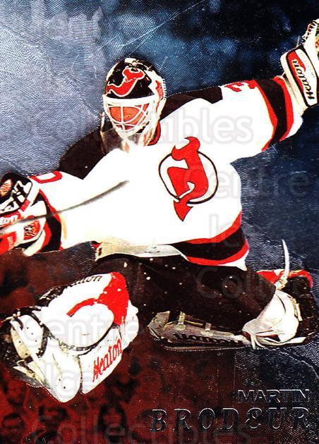 1998-99 Be A Player #79 Martin Brodeur<br/>1 In Stock - $3.00 each - <a href=https://centericecollectibles.foxycart.com/cart?name=1998-99%20Be%20A%20Player%20%2379%20Martin%20Brodeur...&price=$3.00&code=303960 class=foxycart> Buy it now! </a>