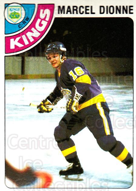 1978-79 Topps #120 Marcel Dionne<br/>12 In Stock - $2.00 each - <a href=https://centericecollectibles.foxycart.com/cart?name=1978-79%20Topps%20%23120%20Marcel%20Dionne...&quantity_max=12&price=$2.00&code=30397 class=foxycart> Buy it now! </a>