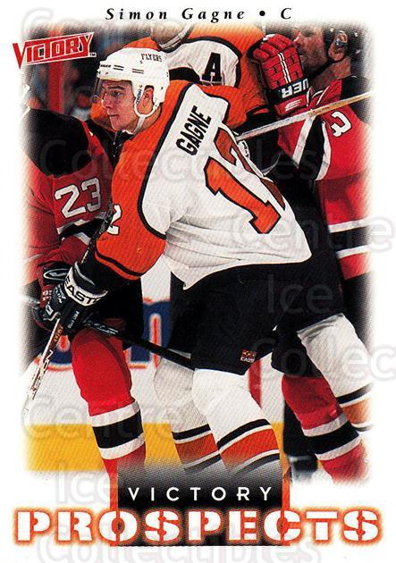 1999-00 UD Victory #362 Simon Gagne<br/>10 In Stock - $2.00 each - <a href=https://centericecollectibles.foxycart.com/cart?name=1999-00%20UD%20Victory%20%23362%20Simon%20Gagne...&quantity_max=10&price=$2.00&code=304031 class=foxycart> Buy it now! </a>