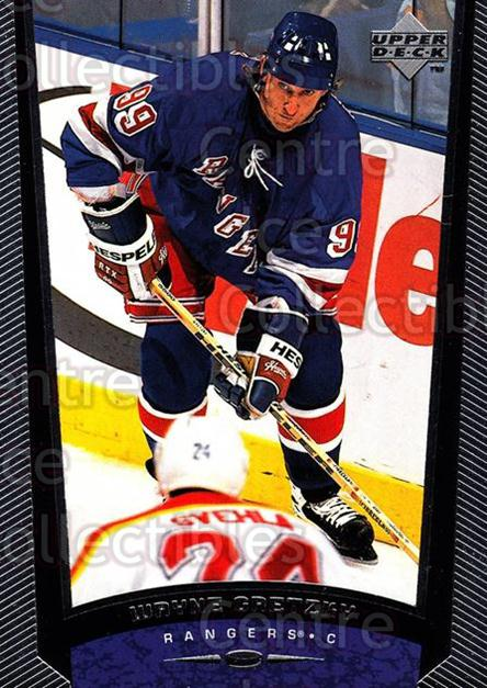 1998-99 Upper Deck #388 Wayne Gretzky, Checklist<br/>9 In Stock - $2.00 each - <a href=https://centericecollectibles.foxycart.com/cart?name=1998-99%20Upper%20Deck%20%23388%20Wayne%20Gretzky,%20...&quantity_max=9&price=$2.00&code=304041 class=foxycart> Buy it now! </a>