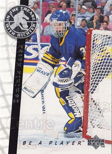 1995-96 Be A Player #192 Dominik Hasek<br/>1 In Stock - $1.00 each - <a href=https://centericecollectibles.foxycart.com/cart?name=1995-96%20Be%20A%20Player%20%23192%20Dominik%20Hasek...&quantity_max=1&price=$1.00&code=304044 class=foxycart> Buy it now! </a>