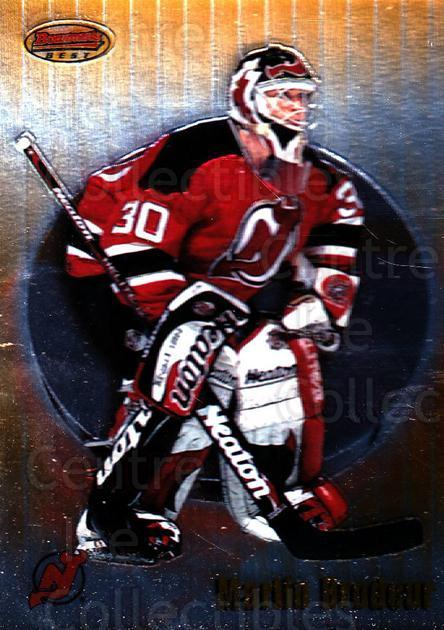 1998-99 Bowmans Best #8 Martin Brodeur<br/>1 In Stock - $2.00 each - <a href=https://centericecollectibles.foxycart.com/cart?name=1998-99%20Bowmans%20Best%20%238%20Martin%20Brodeur...&price=$2.00&code=304054 class=foxycart> Buy it now! </a>