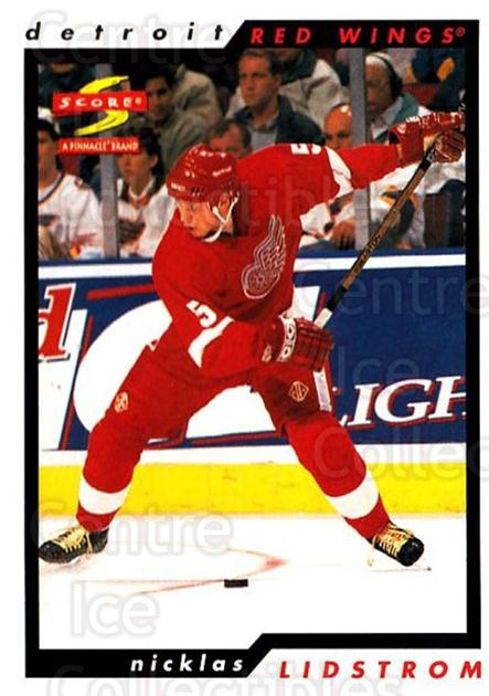 1996-97 Score #176 Nicklas Lidstrom<br/>1 In Stock - $1.00 each - <a href=https://centericecollectibles.foxycart.com/cart?name=1996-97%20Score%20%23176%20Nicklas%20Lidstro...&quantity_max=1&price=$1.00&code=304077 class=foxycart> Buy it now! </a>