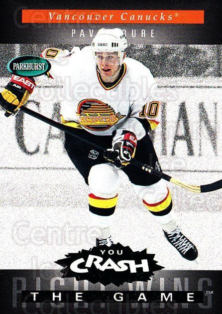 1994-95 Parkhurst Crash the Game Emerald #H24 Pavel Bure<br/>1 In Stock - $5.00 each - <a href=https://centericecollectibles.foxycart.com/cart?name=1994-95%20Parkhurst%20Crash%20the%20Game%20Emerald%20%23H24%20Pavel%20Bure...&quantity_max=1&price=$5.00&code=304294 class=foxycart> Buy it now! </a>