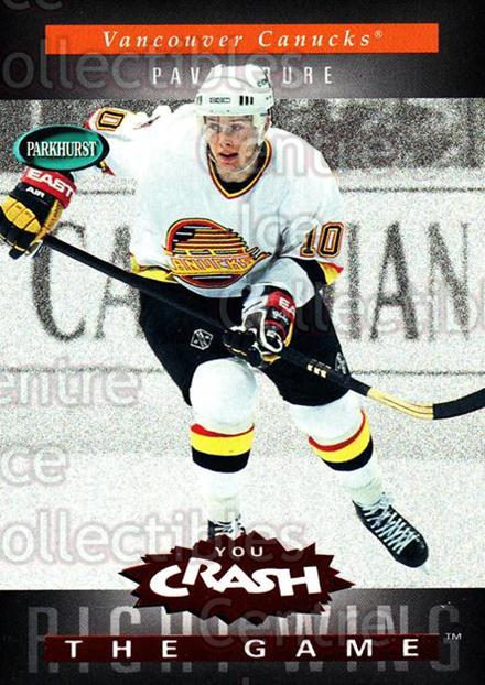 1994-95 Parkhurst Crash the Game Red #C24 Pavel Bure<br/>1 In Stock - $5.00 each - <a href=https://centericecollectibles.foxycart.com/cart?name=1994-95%20Parkhurst%20Crash%20the%20Game%20Red%20%23C24%20Pavel%20Bure...&quantity_max=1&price=$5.00&code=304303 class=foxycart> Buy it now! </a>