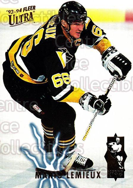 1993-94 Ultra Scoring Kings #4 Mario Lemieux<br/>1 In Stock - $5.00 each - <a href=https://centericecollectibles.foxycart.com/cart?name=1993-94%20Ultra%20Scoring%20Kings%20%234%20Mario%20Lemieux...&quantity_max=1&price=$5.00&code=304350 class=foxycart> Buy it now! </a>