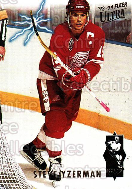1993-94 Ultra Scoring Kings #6 Steve Yzerman<br/>1 In Stock - $3.00 each - <a href=https://centericecollectibles.foxycart.com/cart?name=1993-94%20Ultra%20Scoring%20Kings%20%236%20Steve%20Yzerman...&price=$3.00&code=304351 class=foxycart> Buy it now! </a>