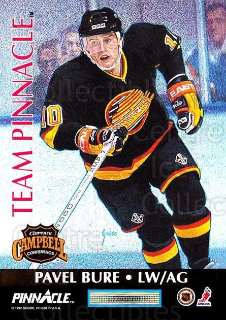 1992-93 Pinnacle Team Pinnacle French #4 Kevin Stevens, Pavel Bure<br/>1 In Stock - $3.00 each - <a href=https://centericecollectibles.foxycart.com/cart?name=1992-93%20Pinnacle%20Team%20Pinnacle%20French%20%234%20Kevin%20Stevens,%20...&quantity_max=1&price=$3.00&code=304394 class=foxycart> Buy it now! </a>