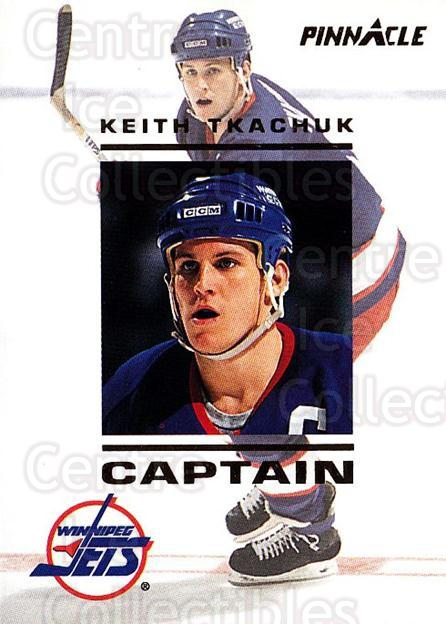1993-94 Pinnacle Captains #26 Keith Tkachuk<br/>2 In Stock - $3.00 each - <a href=https://centericecollectibles.foxycart.com/cart?name=1993-94%20Pinnacle%20Captains%20%2326%20Keith%20Tkachuk...&quantity_max=2&price=$3.00&code=304426 class=foxycart> Buy it now! </a>