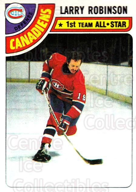 1978-79 Topps #210 Larry Robinson<br/>2 In Stock - $2.00 each - <a href=https://centericecollectibles.foxycart.com/cart?name=1978-79%20Topps%20%23210%20Larry%20Robinson...&quantity_max=2&price=$2.00&code=30471 class=foxycart> Buy it now! </a>