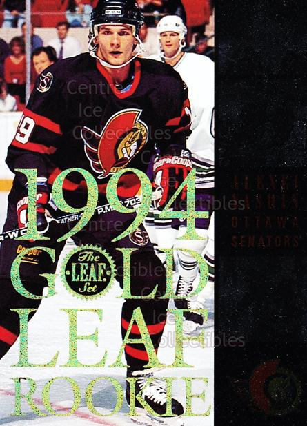 1994-95 Leaf Gold Leaf Rookies #3 Alexei Yashin<br/>9 In Stock - $3.00 each - <a href=https://centericecollectibles.foxycart.com/cart?name=1994-95%20Leaf%20Gold%20Leaf%20Rookies%20%233%20Alexei%20Yashin...&quantity_max=9&price=$3.00&code=304805 class=foxycart> Buy it now! </a>