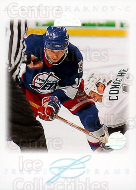 1995-96 Leaf Freeze Frame #5 Alexei Zhamnov<br/>2 In Stock - $5.00 each - <a href=https://centericecollectibles.foxycart.com/cart?name=1995-96%20Leaf%20Freeze%20Frame%20%235%20Alexei%20Zhamnov...&price=$5.00&code=304829 class=foxycart> Buy it now! </a>
