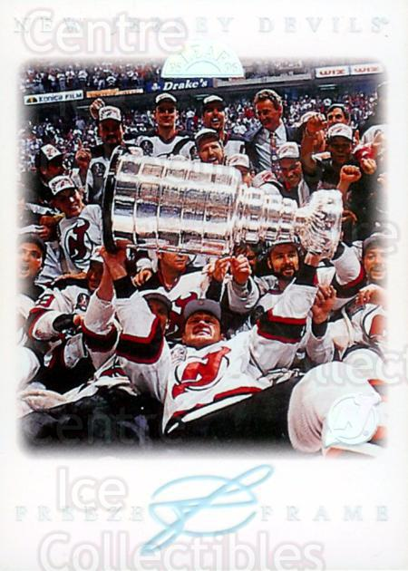 1995-96 Leaf Freeze Frame #6 New Jersey Devils, Stanley Cup<br/>1 In Stock - $5.00 each - <a href=https://centericecollectibles.foxycart.com/cart?name=1995-96%20Leaf%20Freeze%20Frame%20%236%20New%20Jersey%20Devi...&price=$5.00&code=304830 class=foxycart> Buy it now! </a>