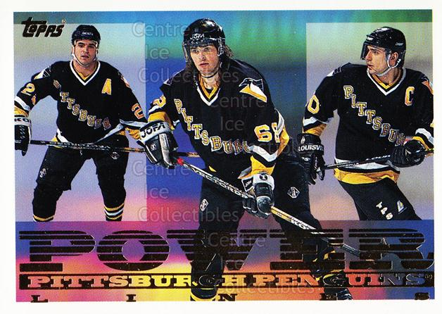 1995-96 Topps Power Lines #5 Kevin Stevens, Ron Francis, Jaromir Jagr<br/>2 In Stock - $3.00 each - <a href=https://centericecollectibles.foxycart.com/cart?name=1995-96%20Topps%20Power%20Lines%20%235%20Kevin%20Stevens,%20...&quantity_max=2&price=$3.00&code=304960 class=foxycart> Buy it now! </a>