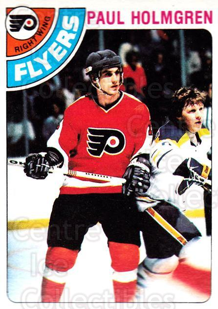 1978-79 Topps #234 Paul Holmgren<br/>12 In Stock - $1.00 each - <a href=https://centericecollectibles.foxycart.com/cart?name=1978-79%20Topps%20%23234%20Paul%20Holmgren...&quantity_max=12&price=$1.00&code=30497 class=foxycart> Buy it now! </a>